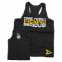 "T-Shirt Stringer ""Time To Get Serious"""