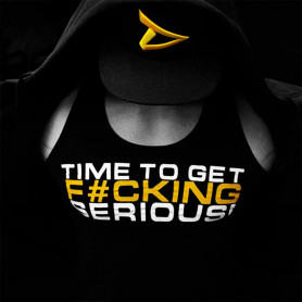"""T-Shirt Stringer """"Time To Get Serious"""""""