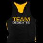 """Tank T-shirt PREMIUM Dedicated """"TEAM DEDICATED"""""""