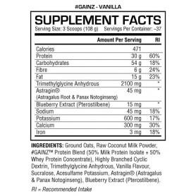 GAINZ Dedicated Nutrition