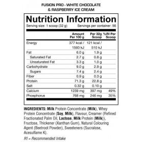Fusion Pro Dedicated Nutrition