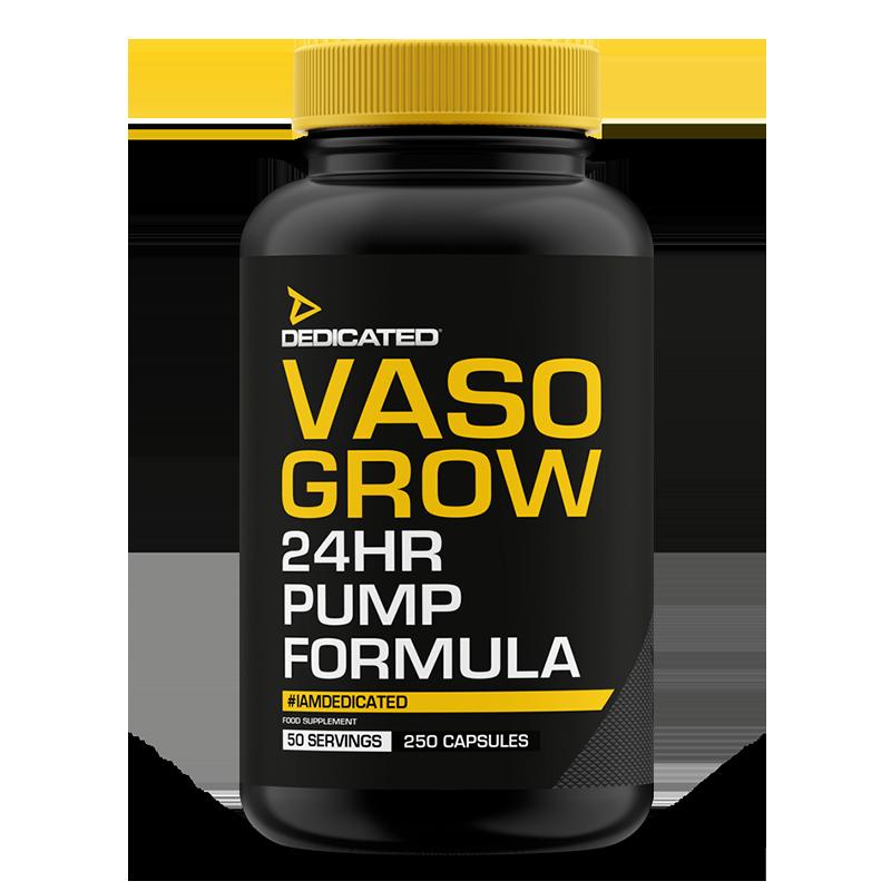 VASO-GROW (250 capsule) DEDICATED Nutrition