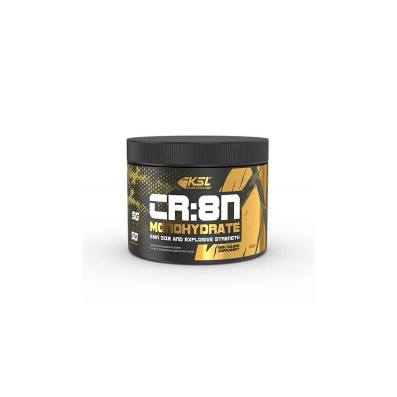 CR:8 Creatine Monohydrate - 250g - KSL Nutrition