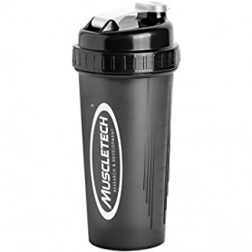 Shaker cup Noir Argenté 700 ml Muscletech