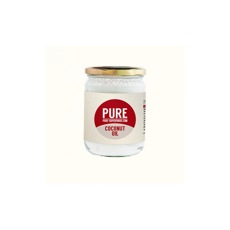 Pure Superfoods: Pure Natural Organic Virgin COCONUT OIL