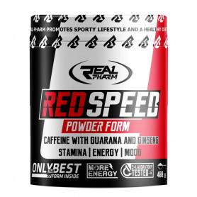 Pre-Workout RedSpeed poudre 400g Real Pharm