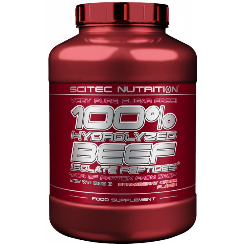 100% Hydrolized Beef Isolate Peptides Scitec