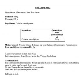 Creatine Creapure® Premium HX Nutrition