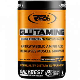 Glutamine (300 caps / 75 doses) Real Pharm