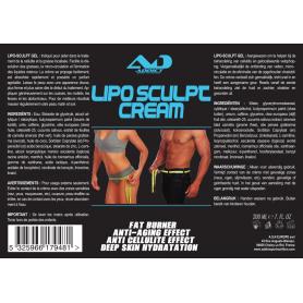 LIPO SCULPT CREME Minceur 200 ML Addict Sports