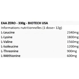 EAA ZERO (350g) Biotech USA