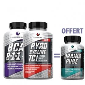 BCAA 8:1:1 + Pyrocycline Pure Esssential