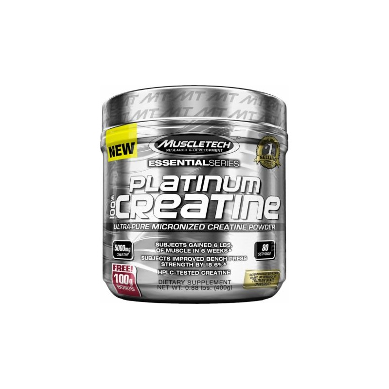 Platinum Micronised Creatine 400g Muscletech