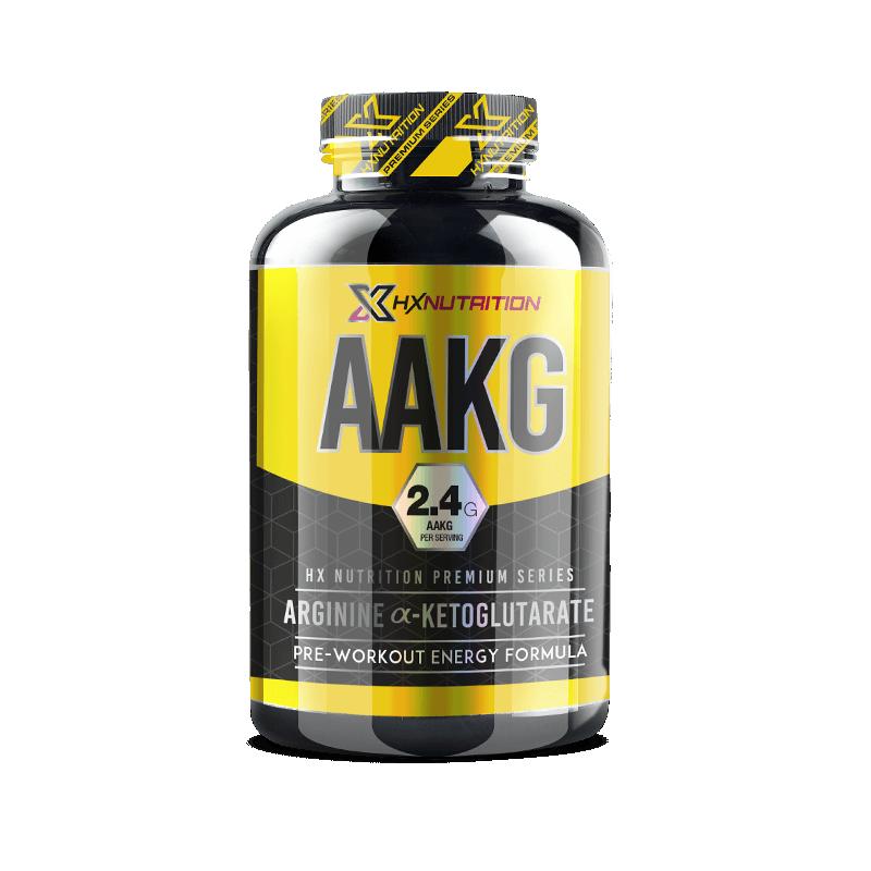 AAKG Premium 120 Capsules (2,4g) HX Nutrition