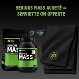 Serious Mass acheté  1 Serviette Sport ON offert
