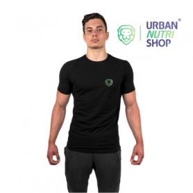 T-SHIRT NOIR MUSCULAIRE URBAN-NUTRI-SHOP