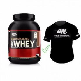Whey Gold Standard 2,27kg + T-Shirt offert