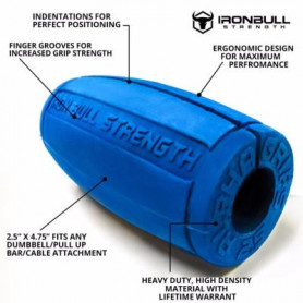 IronBull Alpha Grips 2.0-Rouge