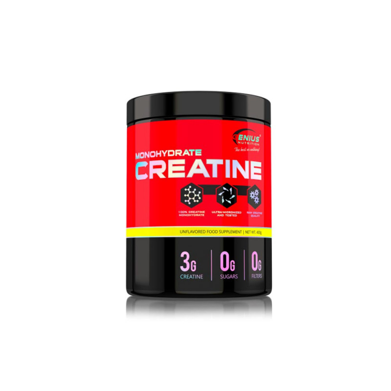 Genius Créatine Monohydrate (400g)