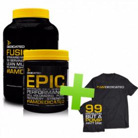 Fusion Pro + Epic  T-shirt offert