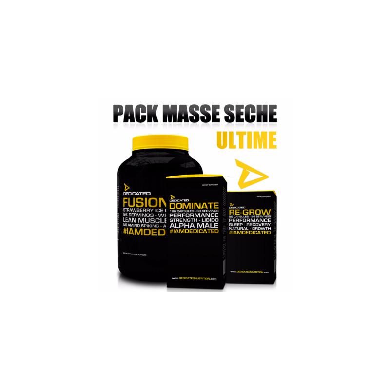 Pack Masse Seche Ultime