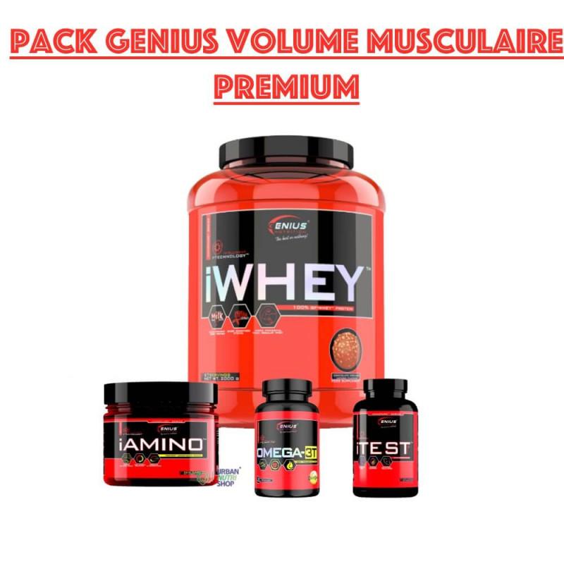 Pack Genius Volume musculaire Premium