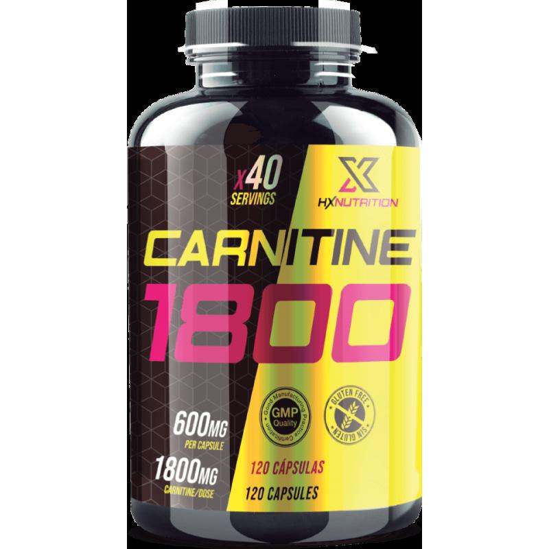 Carnitine 1800mg (120 Caps) HX Premium