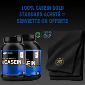 100% Casein Gold Standard Acheté  1 Serviette ON Offert