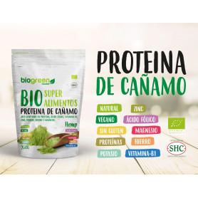 Protéine de chanvre biologique (250g) Biogreen
