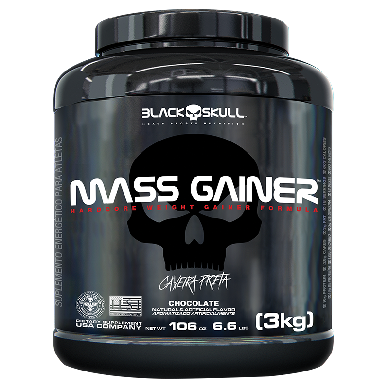 Mass Gainer - BLACK SKULL