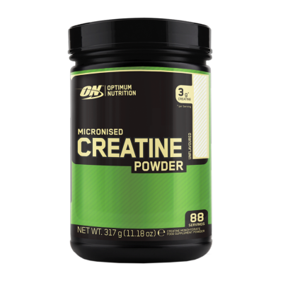 Micronized Creatine Powder Optimum Nutrition-Pot de 317g, Saveurs Neutre, Format Pot de 317g