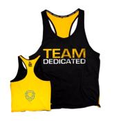 "Tank T-shirt PREMIUM Dedicated ""TEAM DEDICATED"""