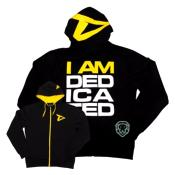 "Dedicated Slimfit Hoodie ""I am Dedicated"""