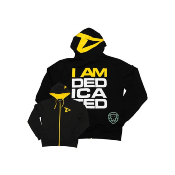 "DEDICATED TRACKSUIT HOODIE ""I AM DEDICATED""-"