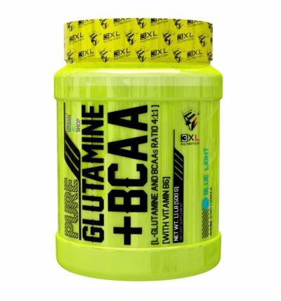 PURE GLUTAMINE + BCAA 100caps
