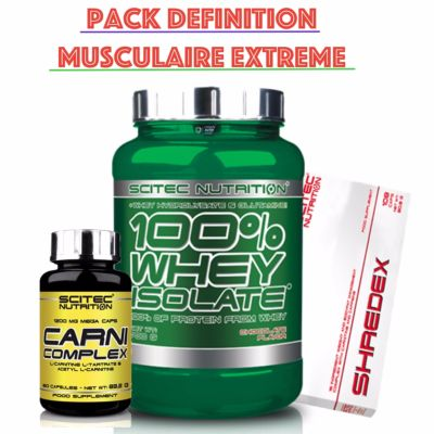 Pack Definition Musculaire Extreme