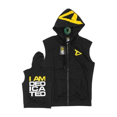 "Dedicated sleeveless Hoodie ""I am Dedicated"