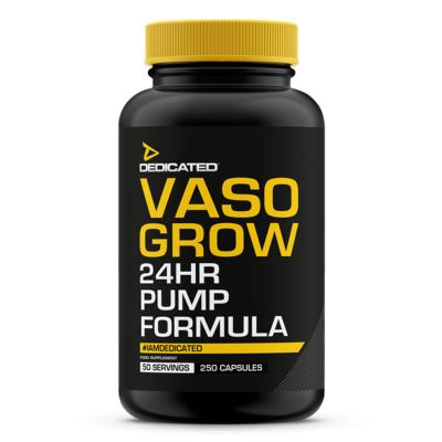 VASO-GROW (250 capsule) DEDICATED Nutrition