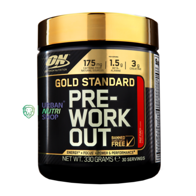 GOLD STANDARD PRE-WORKOUT Pot de 330g