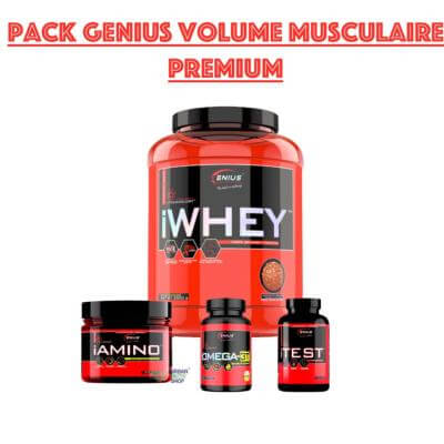 Pack Genius Volume musculaire