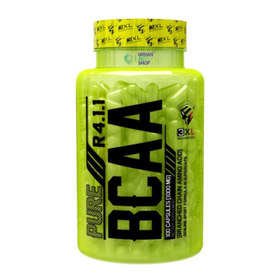 Pure BCAA 4:1:1 3XL Nutrition 100 capsules
