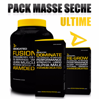 Pack Masse Seche Ultime