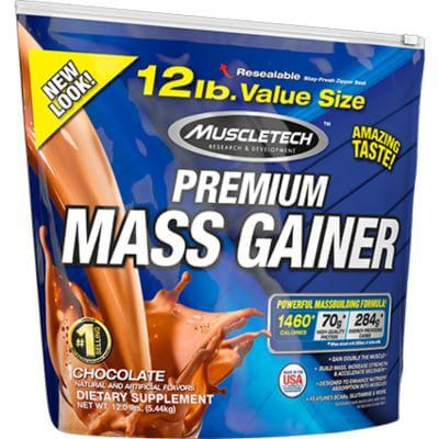100% PREMIUM MASS GAINER Muscletech