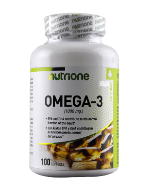 Omega-3 1000mg 100 Softgel Nutrione