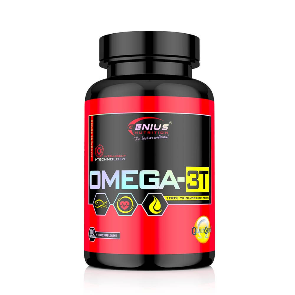 Omega 3T Quality Sylver Genius Nutrition